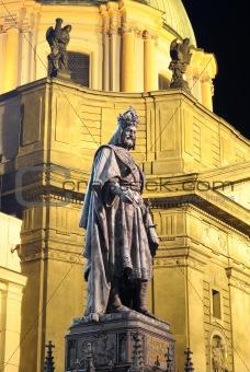 Emperor Charles Statue