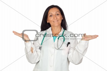 Adorable medical woman