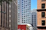 San Francisco architectural contrasts