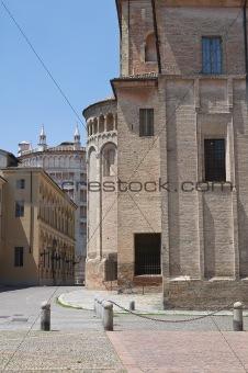 Alleyway. Parma. Emilia-Romagna. Italy.