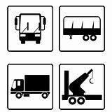 collection of transport icons