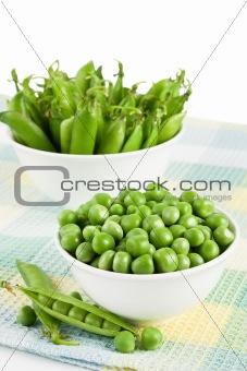 Green sweet peas