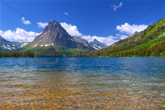 Mount Sinopah - Glacier National Park