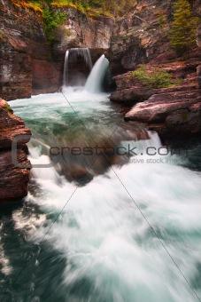 Saint Mary Falls - Glacier NP