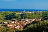 Mediterranean town of Susak, Croatia