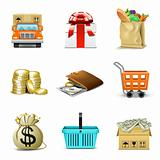 Shopping icons 2 | Bella series