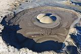 Mud Volcano in Buzau, Romania