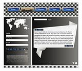 Web site design template 39