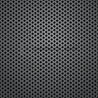 Abstract square background - cross-shaped holes