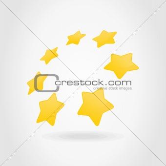Circle a star