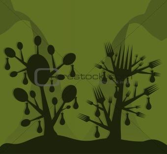 Food a tree