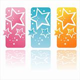 colorful stars banners