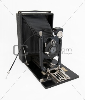 Authentic old photo camera
