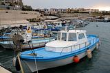 Fishing boats in bay on Cyprus