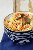 Pilaf classic Middle Eastern and Central Asian dish