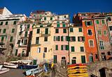 Riomaggiore Village in Cinque Terre, Italy