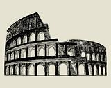 Roman coliseum.