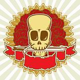 Skull & roses color