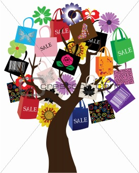 Shopping tree
