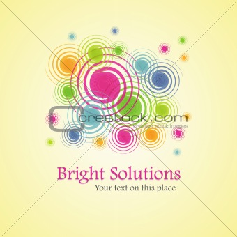Bright solution (background from spirals)