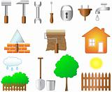 set of objects for home work
