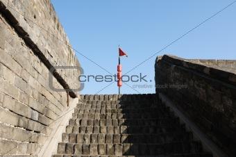 City wall of Xian, China
