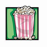 Clip art popcorn
