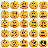 Halloween pumpkins