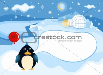 north pole background