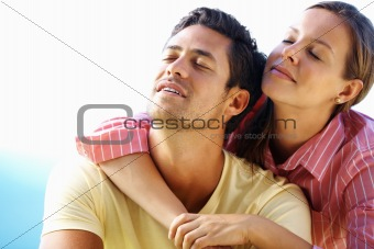 Couple enjoying peace