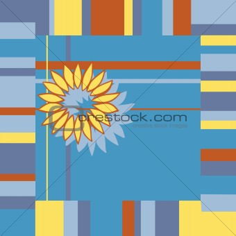 Bright abstract background