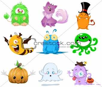 Halloween Monsters Pack