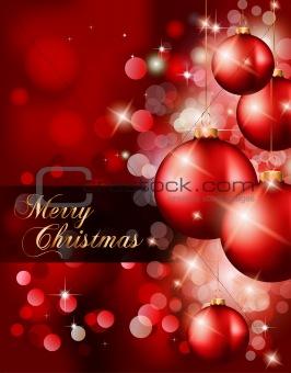 Elegant Classic Christmas Background