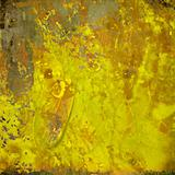 Colorful Yellow Grunge Background