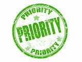 Priority stamp
