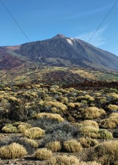 El Teide summit desert