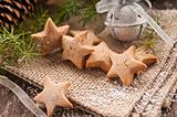 Honey star cookies