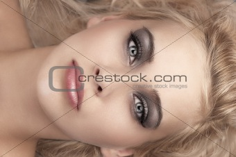 beauty make up portrait