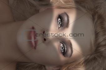 beauty make up portrait