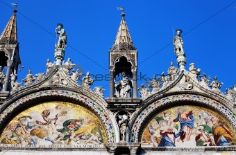 Architectural detail in Venice