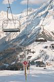 Under Chairlift