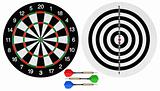 Dartboards and darts