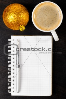 golden ball coffee notebook pen 2310(51).jpg