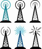 radio tower symbols