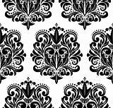 Damask pattern.