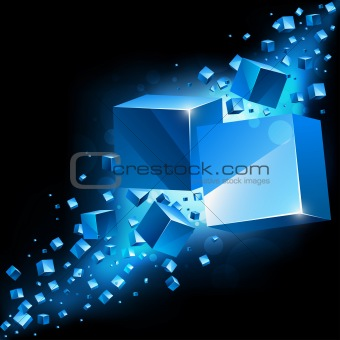 3d abstract background.
