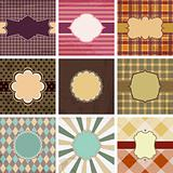 Vector  vintage backgrounds.