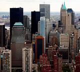 Skyscrapers - Aerial view of buildings in New York city