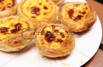 portuguese egg tart in Macao