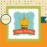 Happy Birthday cupcakeent card